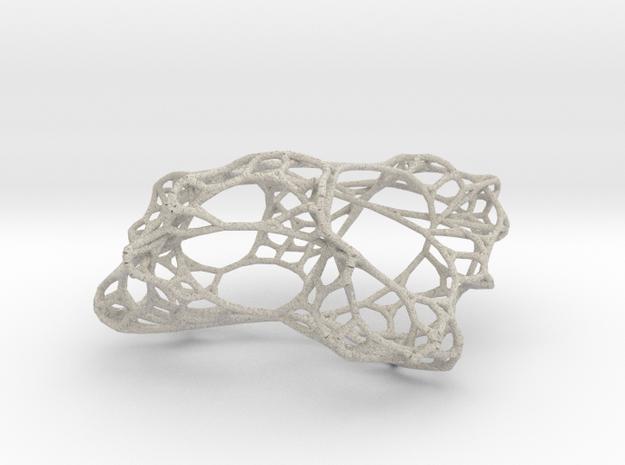 Hyperbolic Network 3d printed