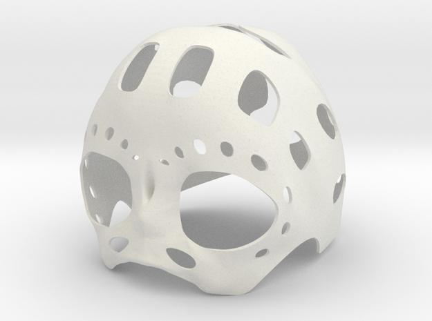 Nano Underskull in White Natural Versatile Plastic