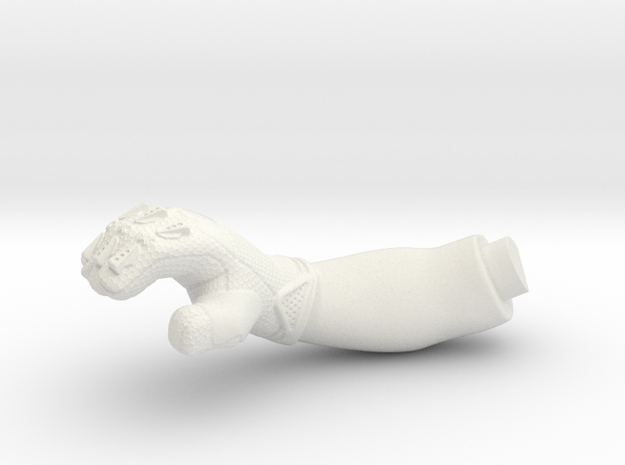 WW10008 Wild Willy Glamis driver arm - RIGHT in White Natural Versatile Plastic