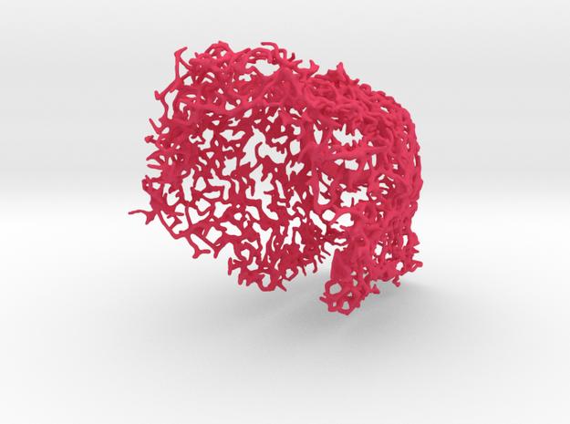 Coral Wine Holder 3d printed