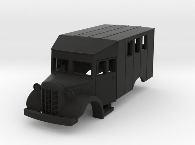 Austin K2 (Bellewagen 1) in HO 3d printed