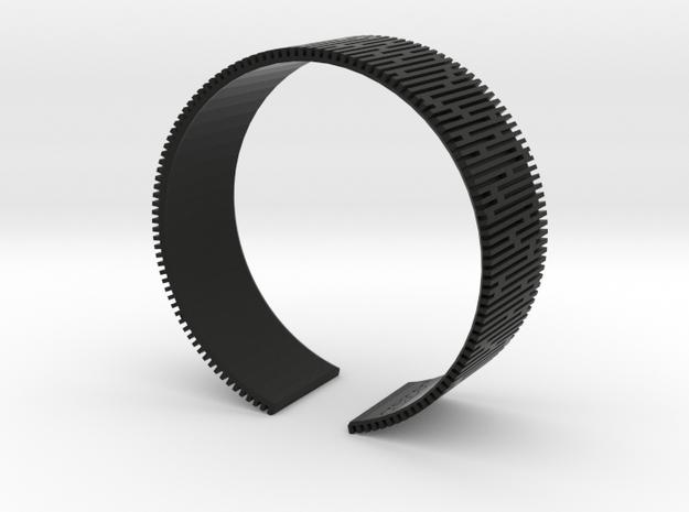 Crescent Bracelet (L) 3d printed