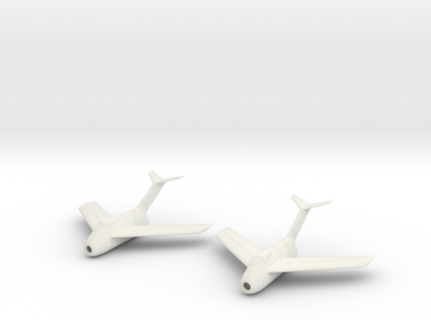 1/100 Focke-Wulf Ta-183 (x2) in White Strong & Flexible