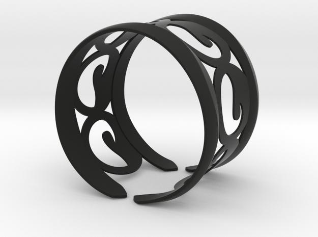 Ocean Wave Bracelet 3d printed