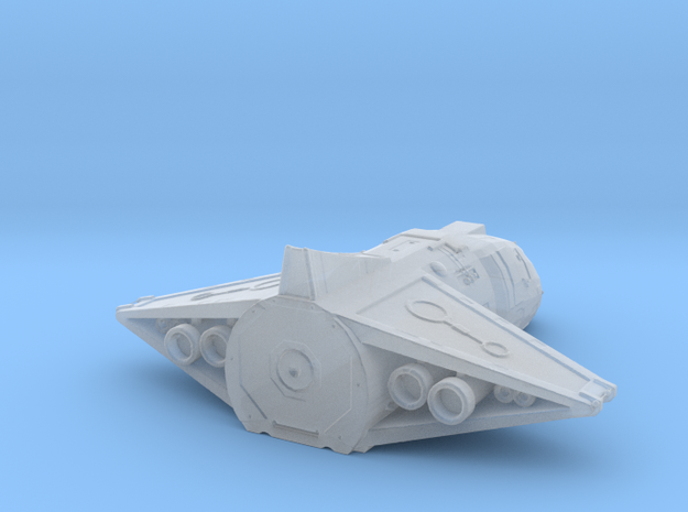 Anchient Shuttle in Smooth Fine Detail Plastic