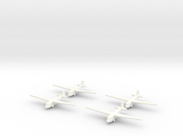 A-7 Russian Glider 1/600 (X4) in White Processed Versatile Plastic