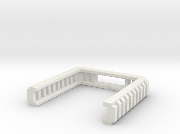 Tactical Bottom Part 2 in White Natural Versatile Plastic