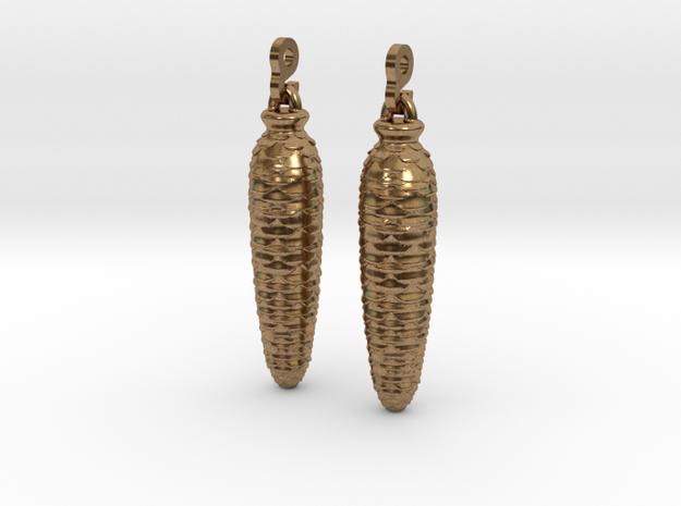Cuckoo Weight Earrings 3d printed