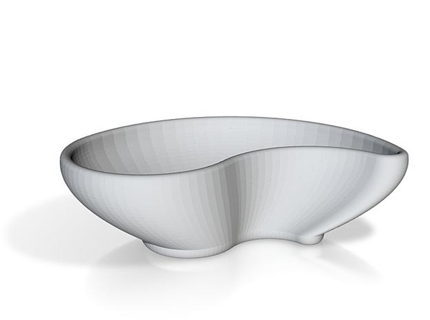 Yin Yang Sauce Bowl 3d printed
