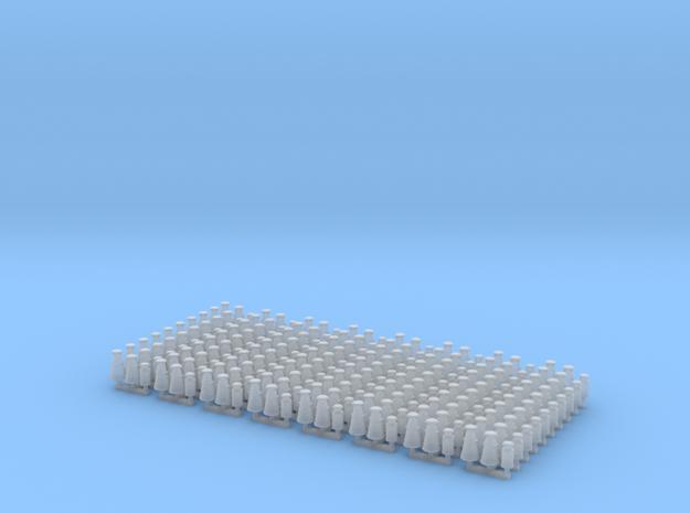 GWR Milk Churns (N scale) in Smooth Fine Detail Plastic