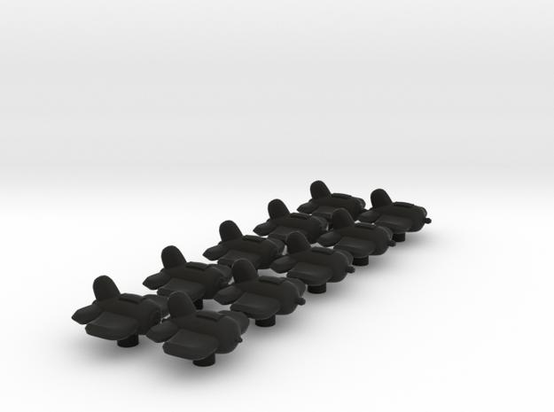 Xxcha Fighter Fleet 3d printed