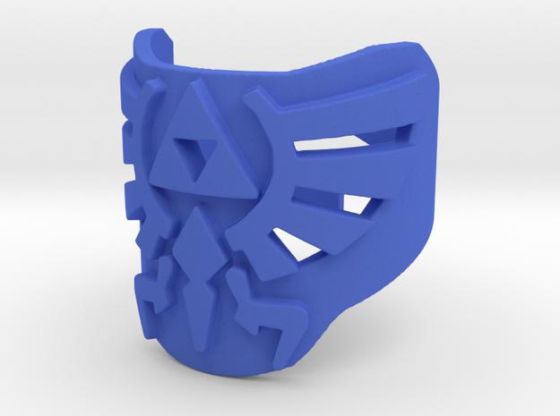 Zelda hylian crest ring (med/adjustable) 3d printed