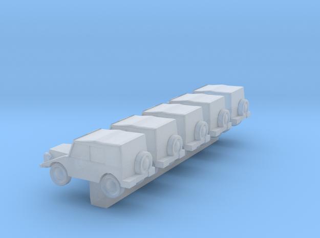 1/600 DKW Munga in Smooth Fine Detail Plastic