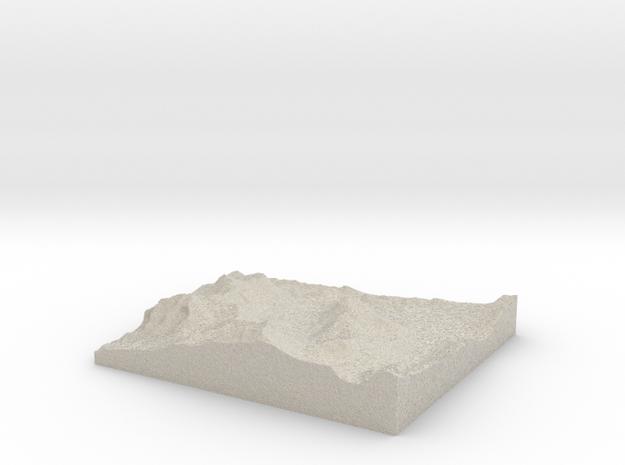 Model of Kirkwood 3d printed