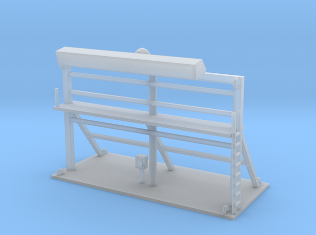 Building Sign 1 N Scale in Smooth Fine Detail Plastic
