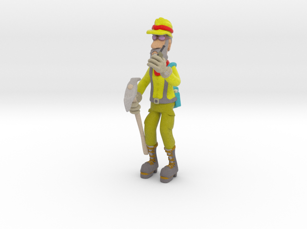 Radioman in Full Color Sandstone