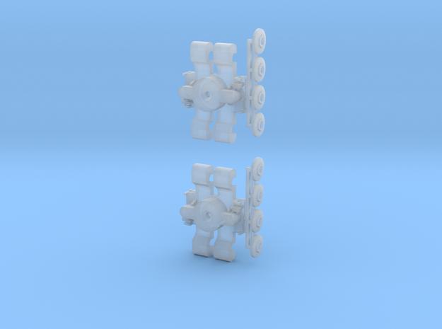 Drehgestell T3, T3D und T4D 1:160 3d printed