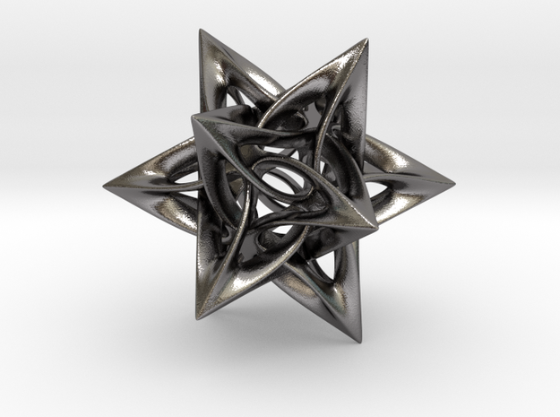 Dodecahedron IX, large 3d printed