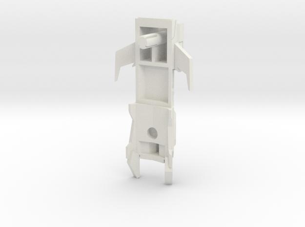 Gunship--R3 in White Natural Versatile Plastic
