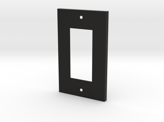 Single Wall Plate 3d printed