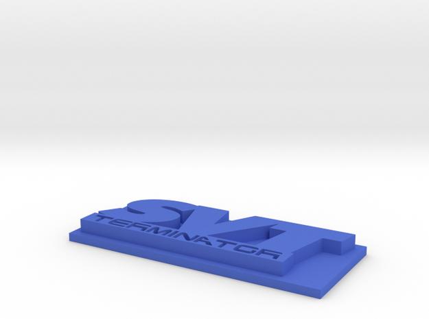 SVT Terminator Emblem V2 w/ base 3d printed