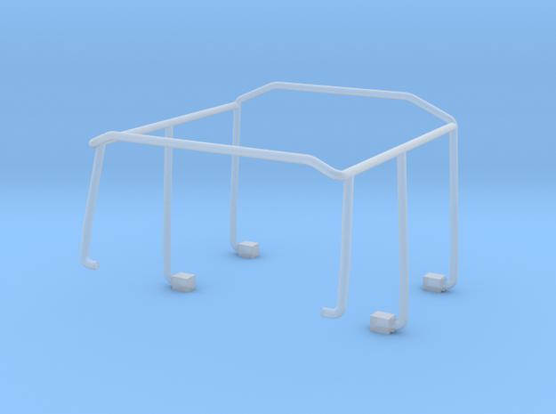 Überschlagbügel komplett für Zetrosdoppelkabine in Smooth Fine Detail Plastic