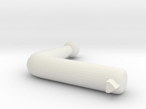 Chasis Lock - Playbig in White Natural Versatile Plastic