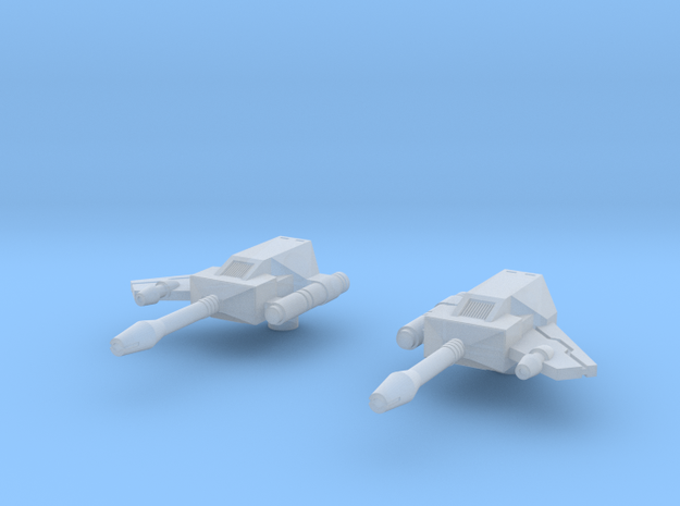 Rumble Frenzy Guns 01 - Solid 3d printed