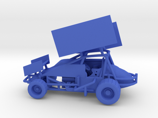 Sprint Car 1/64 scale 3d printed