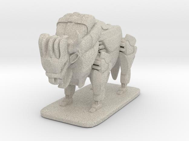Bison 3d printed