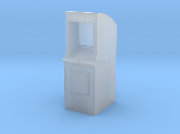 HO-Scale Arcade Game in Smooth Fine Detail Plastic