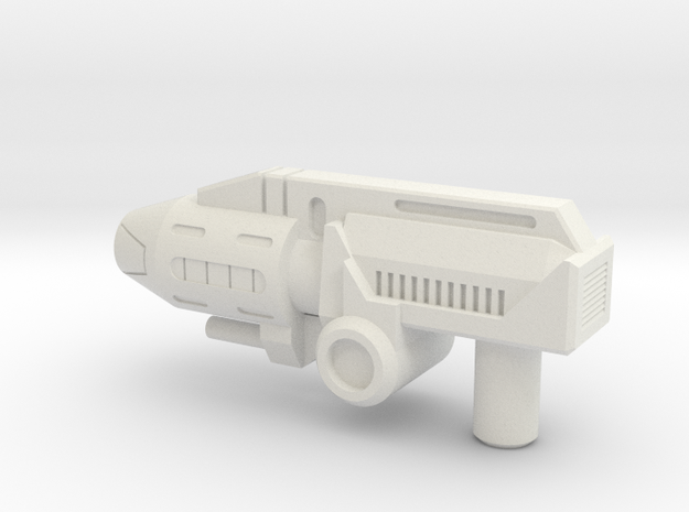 RID Prime Pistol in White Natural Versatile Plastic