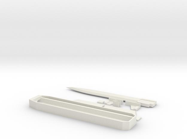 Hohoho in White Natural Versatile Plastic