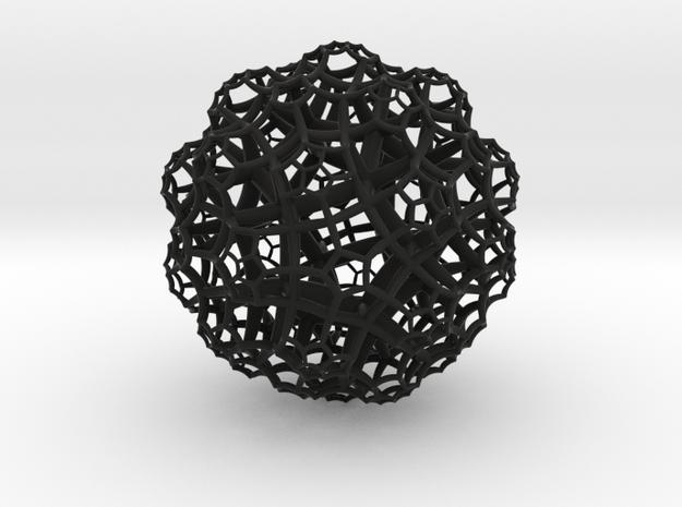 {5,3,4} H³ Honeycomb 3d printed