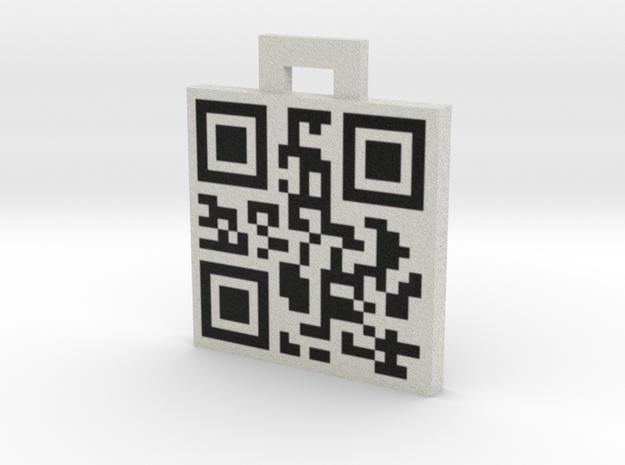 QRCode -- tel: 620454096 3d printed