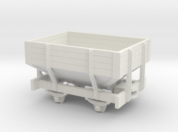 OO9 short Hopper wagon 3d printed