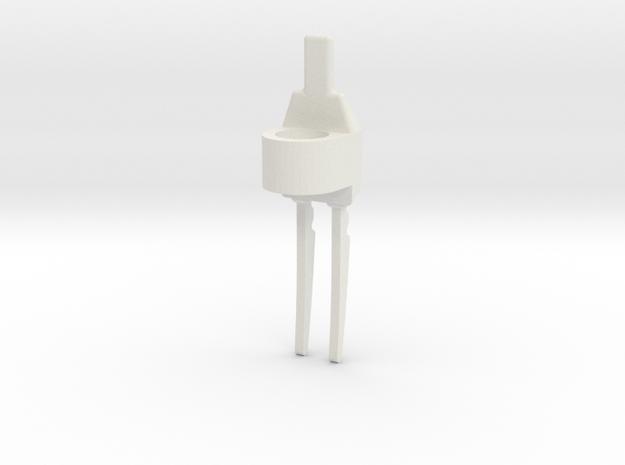 Predator Blade in White Natural Versatile Plastic