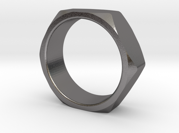 Nut Ring Size 8 3d printed