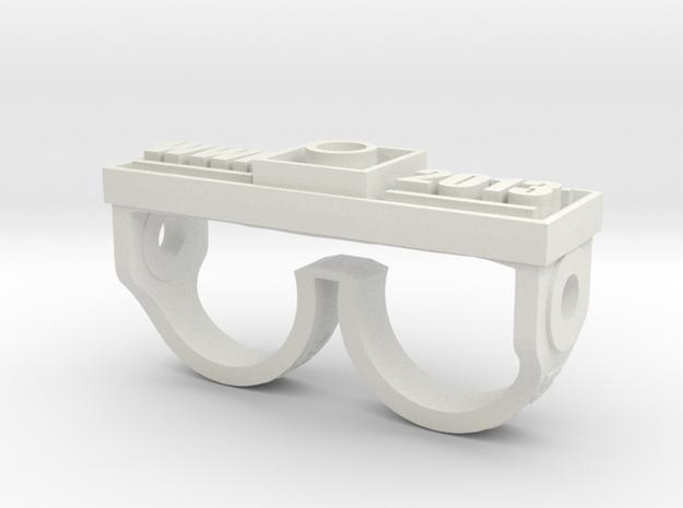 Washer Wars II in White Natural Versatile Plastic