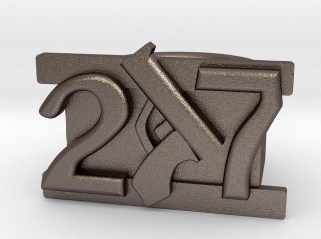size 11.5 Die Antwoord numbers gang ring 3d printed