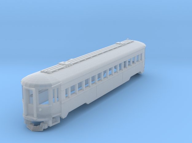 CNSM 757 Silverliner coach in Smooth Fine Detail Plastic