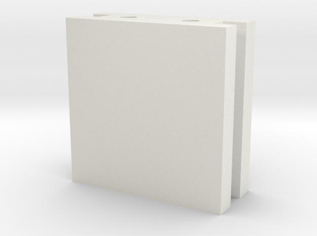 VeerBlok Solid in White Natural Versatile Plastic