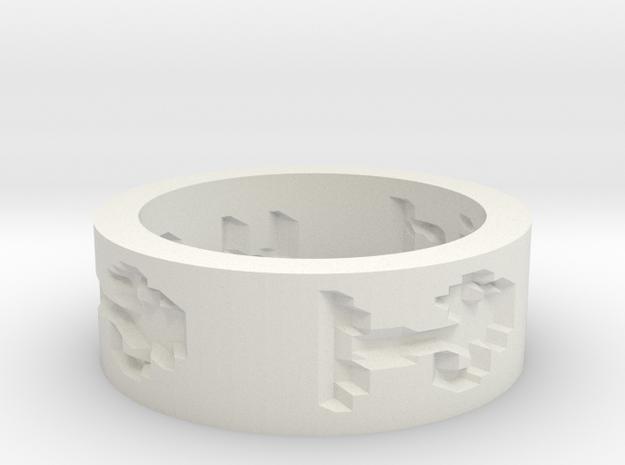 by kelecrea, engraved: hi how are u 3d printed