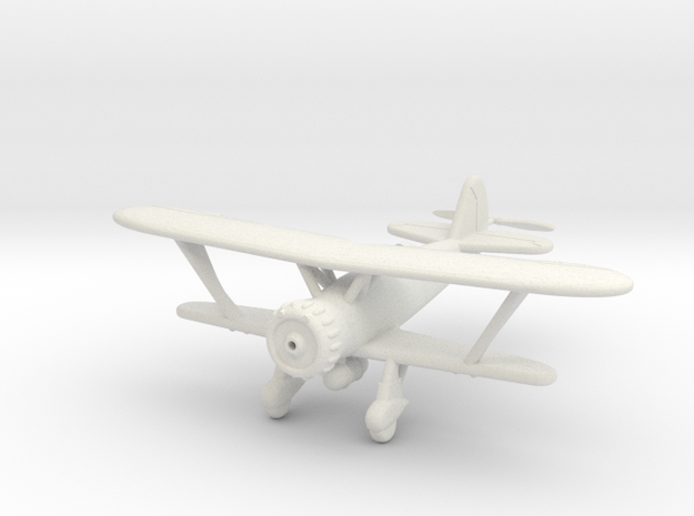 1/100 Henschel Hs-123 in White Strong & Flexible
