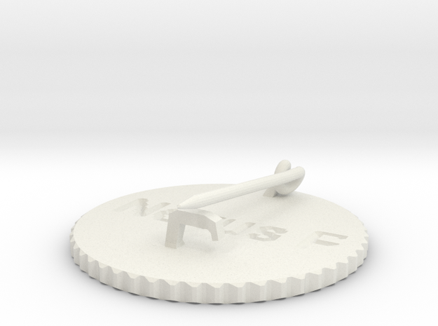 by kelecrea, engraved: Nexus Projekt 3d printed