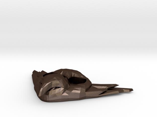 "FLYHIGH Bird Pendant 1"" 3d printed"