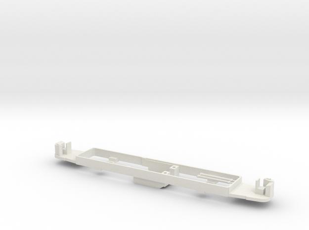 OEG Rastatter Triebwagen Bodenplatte 3d printed