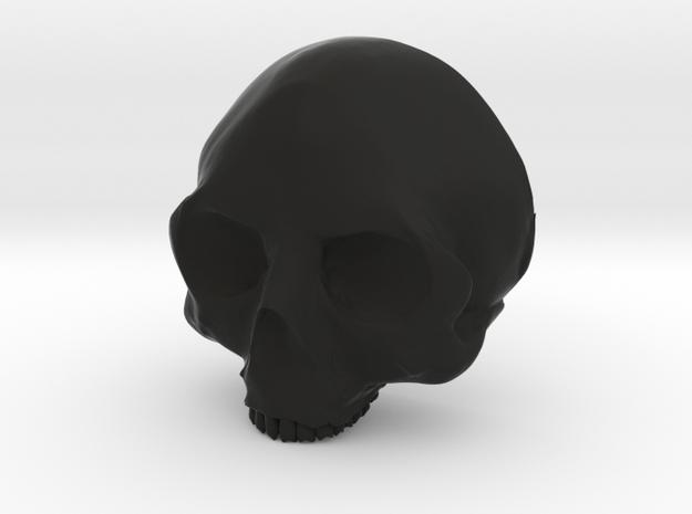 Skull Bolo Tie 3d printed