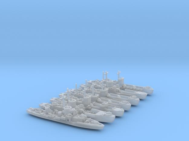 LCI(L) Various 1/700 Scale 3d printed