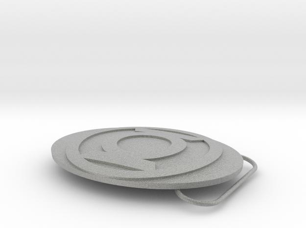 Green Lantern Belt Buckle 3d printed
